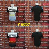 Baju Kaos Badminton Yonex Y 6007 Grade Ori Import Murah