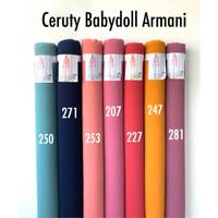 Kain Ceruty Babydoll 0.5 Meter - Bahan Ceruti Baby Doll Premium