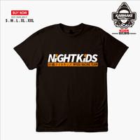 Kaos Baju JDM Night Kids Myogi Racing Team Kaos Otomotif - Karimake
