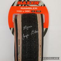 Ban Luar Maxxis Rambler 700 x 38 EXO TR SKIN WALL