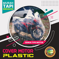 Cover Motor Sarung Motor Plastik Vixion R15 CBR150 Megapro Xabre Tiger