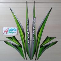 Striping Sticker Motor Honda Revo Fit Std 2012 Hijau