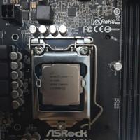 intel core i3 7100 + fan+ mobo asrock b250m hdv