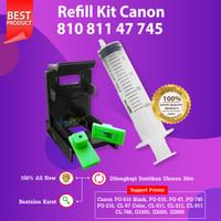 Refill Kit Canon 810 811 CA91 CA92 Penyedot Tinta Cartridge 745s 746s