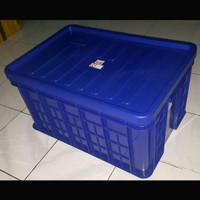 P64xL43xT38 Hanata 2104 + Tutup Box Container Keranjang Bak Kolam Ikan