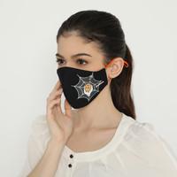Halloween Mask Spider Web - Arkamaya x Gudetama