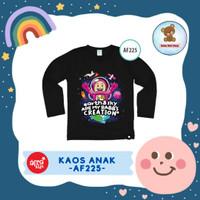 Kaos Anak Afrakids / Baju Anak / Atasan Anak Perempuan (AF225)