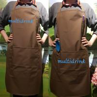 apron masak / celemek dapur / apron waterproof premium/ apron anti air