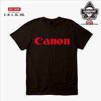 Kaos Baju Camera Canon Logo Kaos Photography - Karimake