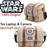 Tas Camera DSLR Star wars Storm Trooper Camera Bag Slempang Mirrorless