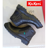 Sepatu Boots Safety Pria Kickers KIng safety kulit asli