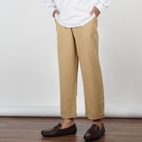 Daily Outfits Celana Ankle Cropped Pants Sirwal Cotton Cream Premium