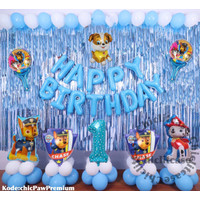 Paket set balon ulang tahun anak paw patrol birthday marshall chase