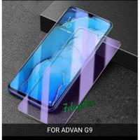 non list blue light tempered glass advan G9 anti gores kaca