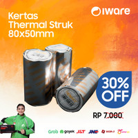 Kertas Kasir Struk Thermal 80x50mm Thermal Paper Roll 80 x 50
