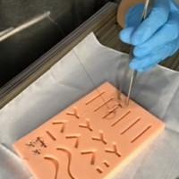 suture pads/hecting/alat jahit luka