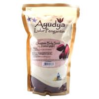 ayudya lulur pengantin 1kg chocolate body scrub + extract ginger