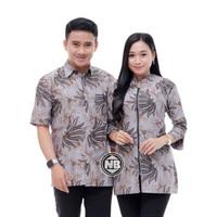 Baju Batik Couple Seragam Kerja Z-02