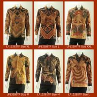 Baju Kemeja Batik Batik Tulis Premium Pria Lengan Panjang Full Furing