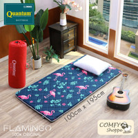 Quantum Kasur Lantai Flamingo 100 x 195 cm - Busa Gulung Lipat