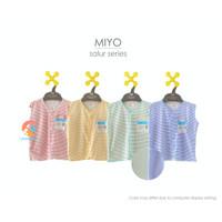 MIYO 3pcs Baju Kutung Motif - Baju Bayi 3-6 Bulan