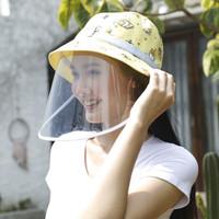 Print Bucket Hat with Face Shield - Arkamaya x Gudetama