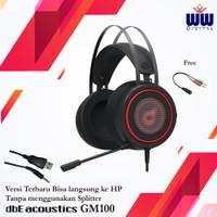 Headphone Gaming dbE GM100 v3 Headset for Smartphone Jack 3.5mm