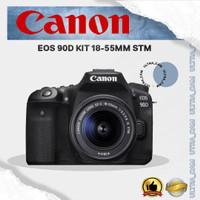 KAMERA CANON EOS 90D KIT 18-55MM STM (DISTRIBUTOR)
