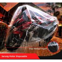 Cover Motor Sarung Motor Plastik Disposable CBR150 R15 V2/V3 Vixion
