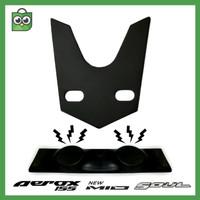 Bracket Dudukan Plat Nomor Magnet Yamaha Aerox / Mio - Dasi Tameng