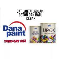 Cat lantai Epoxy UPOX Dana paint/Floor Coating Danapaint Clear 1L set
