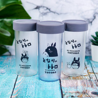 Botol Minum Air Bahan Plastik Motif Karakter Totoro Lucu Premium