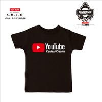 Kaos Baju Anak Youtube Content Creator Kaos Internet - Karimake