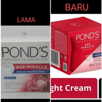 Ponds age miracle night cream 50 gr / pond's age miracle night cream