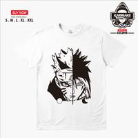 Kaos Baju Anime Naruto Sasuke Rival Kaos Anime - Karimake