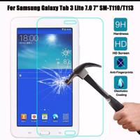 Samsung Galaxy Tab 3 V T111-T116/ Tempered Glass Clear Anti Gores Kaca