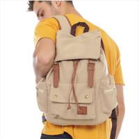 tas ransel backpack traveling kanvas pria original