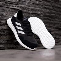 Sepatu Lari Adidas ORIGINAL CLOUDFOAM Archivo Black White