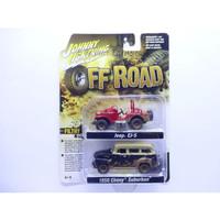 JOHNNY LIGHTNING OFF ROAD - Jeep CJ-5 Renegade & 1950 Chevy Suburban