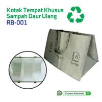 Kotak Tempat Sampah Daur Ulang / Recycled Bag RB-001