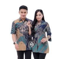 Baju Batik Couple Seragam Kerja Z-04