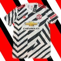 Original 2020 - 21 Manchester Persatuan Third Jersey Baju Bola United