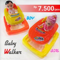 GROSIR MAINAN BONEKA ANAK BABY WALKER (BOY/ GIRL) - SOUVERNIR ULTAH