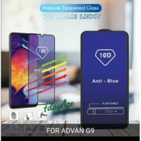 10D blue light tempered glass advan G9 anti gores kaca anti radiasi