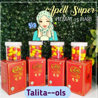 Obat Pelangsing Alami Apell Super d'Lemonie 15 Caps