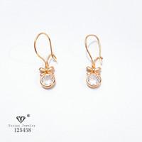 Anting Permata Lapis emas Perhiasan imitasi Gold Yaxiya Jewelry I12270
