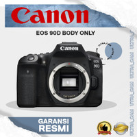 KAMERA CANON EOS 90D BODY ONLY (DISTRIBUTOR)