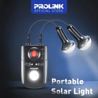 PROLINK PPS80M Portable Powerbank Solar Light Unit with LED LAMP