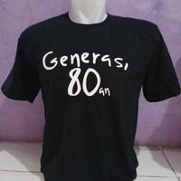 kaos baju generasi 80an kaos distro keren murah