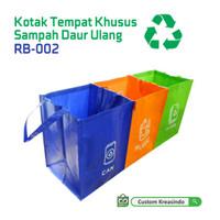Kotak Tempat Sampah Daur Ulang / Recycled Bag RB-002